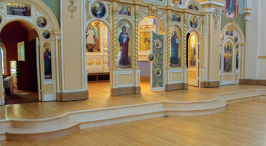 St. Mary's Interior Maple Floors