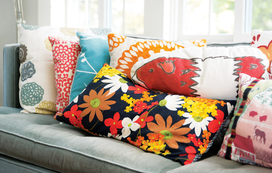 Carol Bruess Throw Pillows