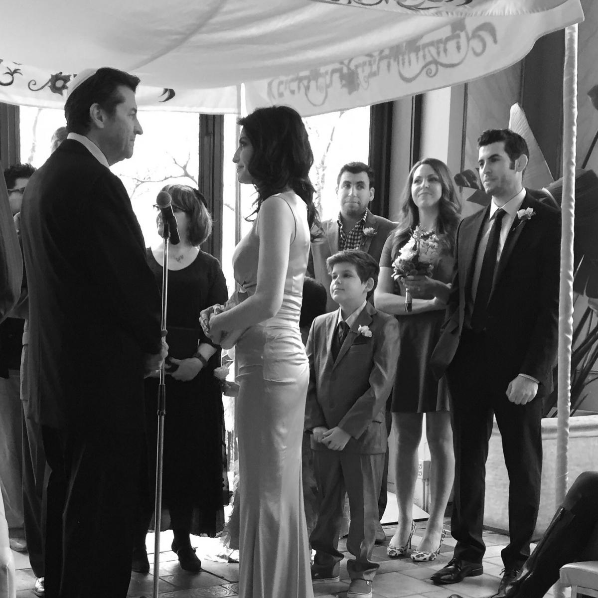 Jordana green's wedding ceremony