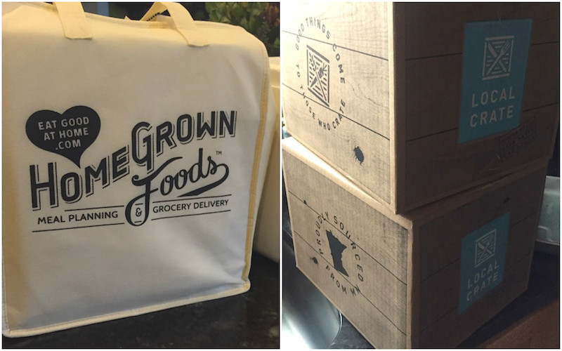 Local Crate, Homegrown foods, Twin Cities, meal delivery
