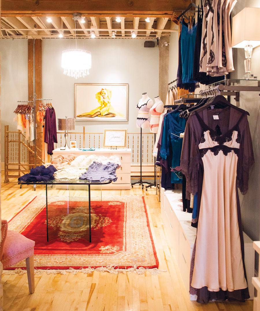 Flirt Boutique, north loop, minneapolis, lingerie