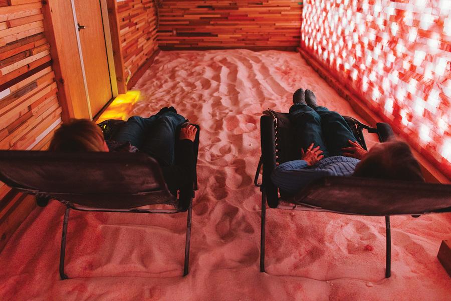 salt cave, minneapolis, salt therapy, warm up, twin cities