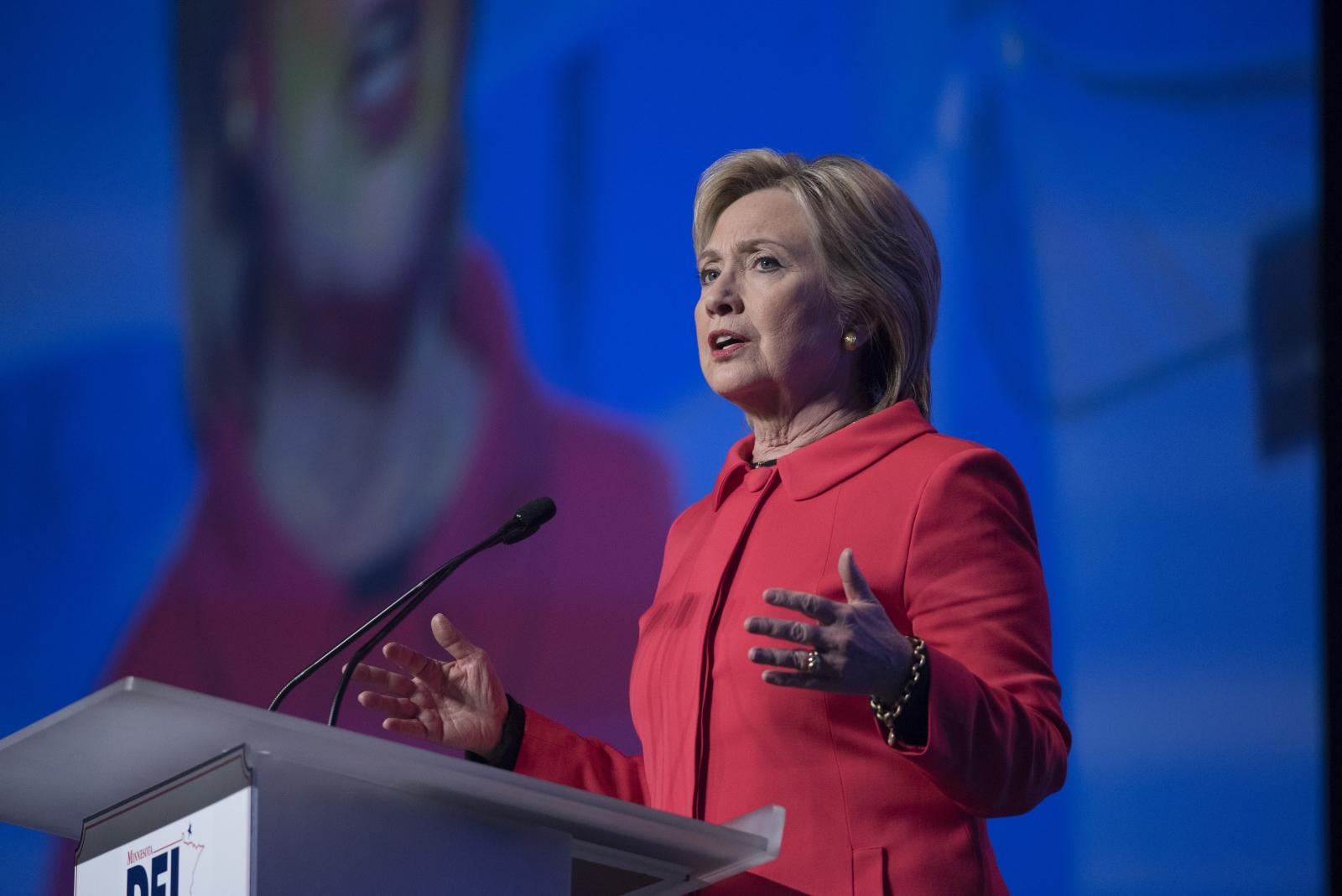 Hillary Clinton at Humphrey-Mondale Dinner