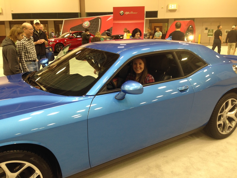 twin cities auto show, challenger