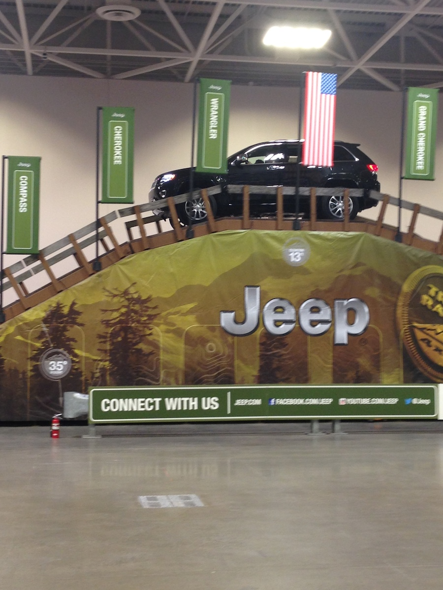 twin cities auto show, jeep