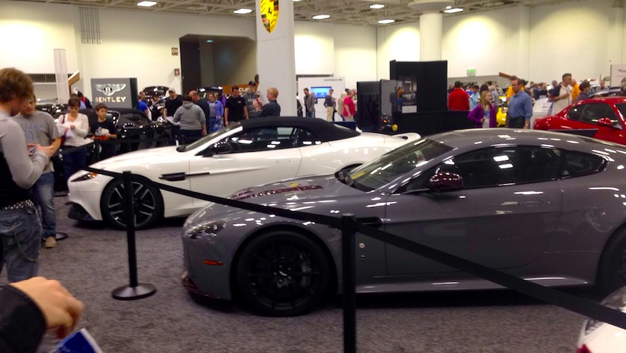 twin cities, auto show, cars