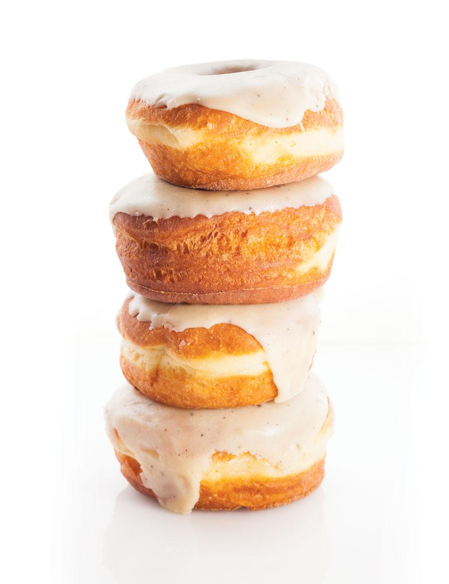 bogart's donuts, brown butter glazed