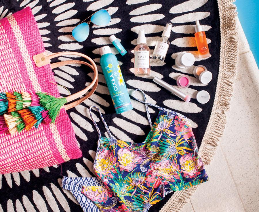 Summer beach accessories, big island, nani nalu, witt and bliss, goglow