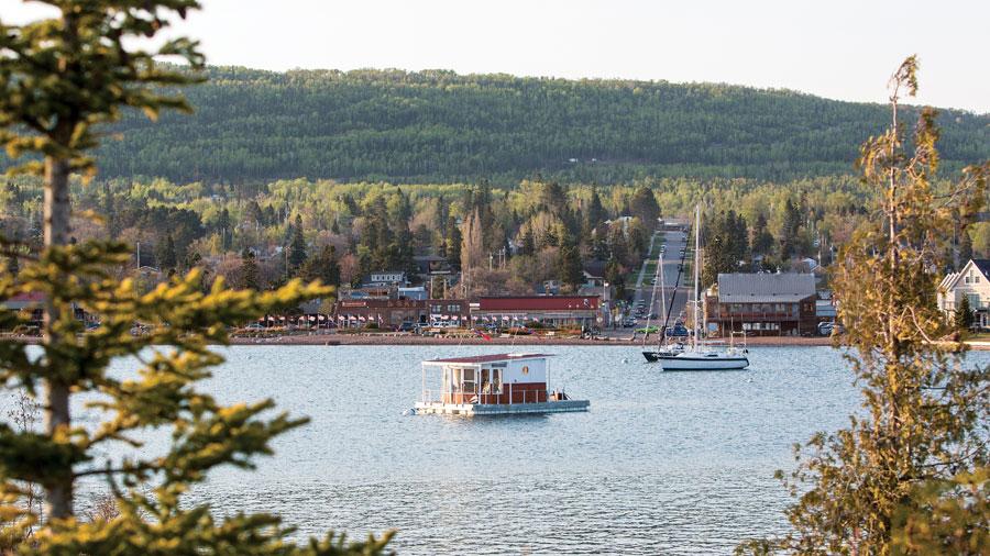 grand marais, grand marais harbor, minnesota travel, lake superior
