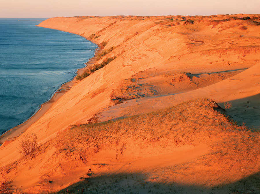 grand sable dunes, lake superior, minnesota travel