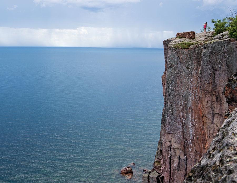 lake superior, palisade head, minnesota travel, silver bay