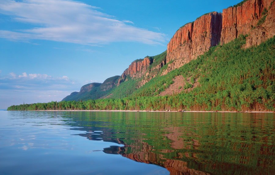 giant provincial park, thunder bay, canada, lake superior