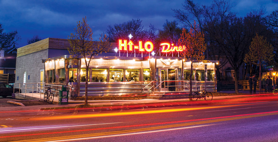 hi-lo diner, restaurant rumble, food