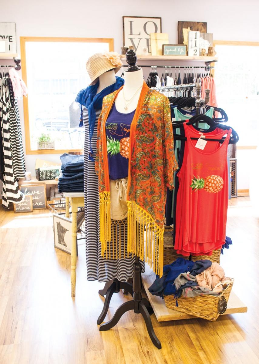 wild ruffle, in style, local fashion, prior lake, shopping