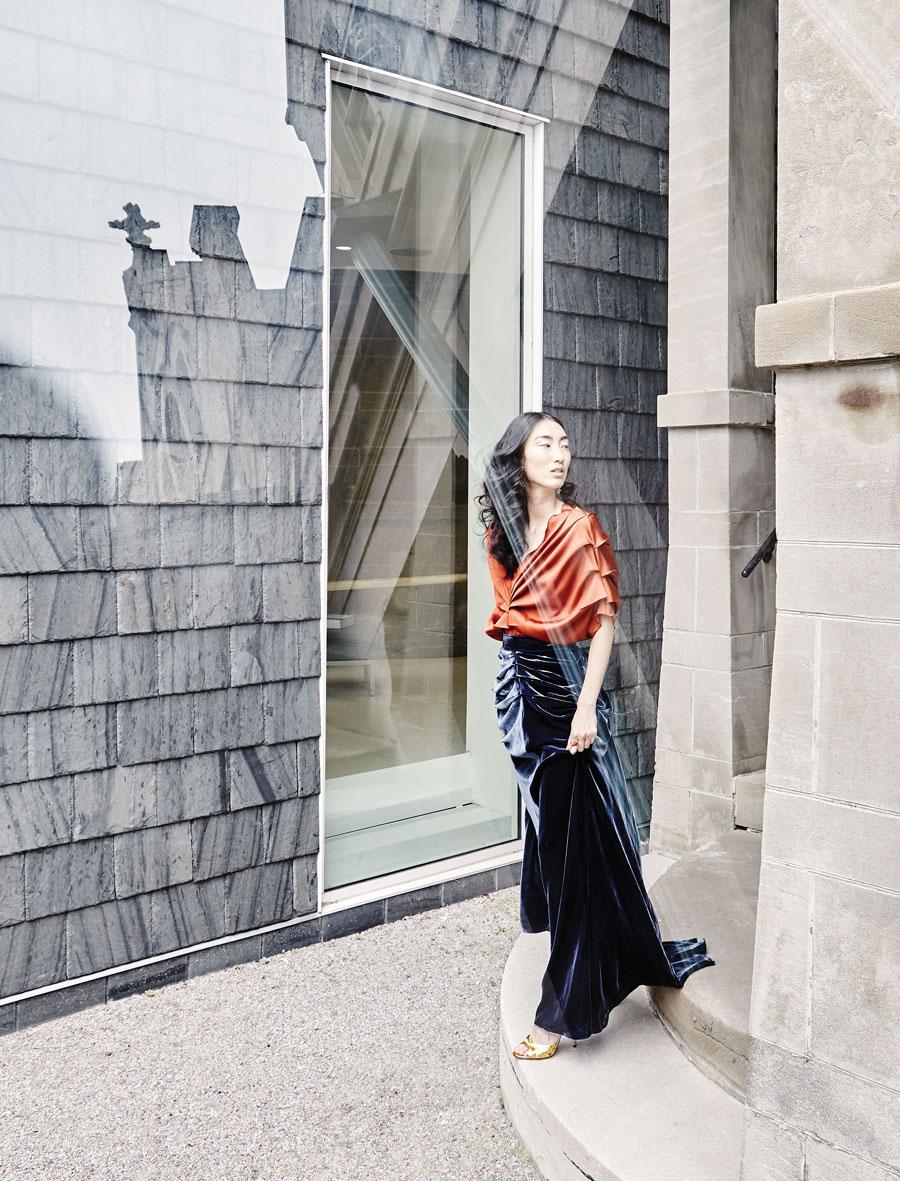 fall fashion, george moskal, stephanie lake design, milanastile, showroom, gucci, nordstrom,