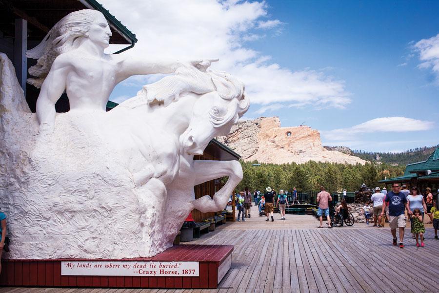 Crazy Horse Memorial, South Dakota State Parks, National Parks, fall trips, travel