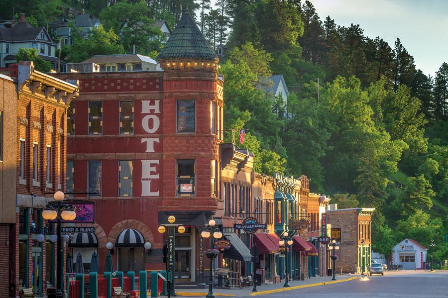 Deadwood, South Dakota, Fall Trips, National Parks, travel