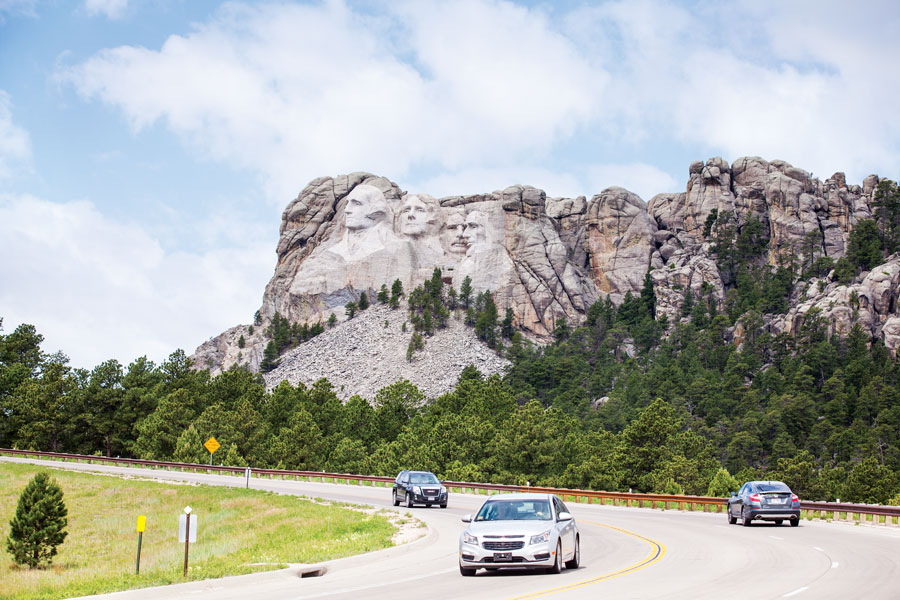 Mount Rushmore, South Dakota State Parks, National Parks, fall trips, travel