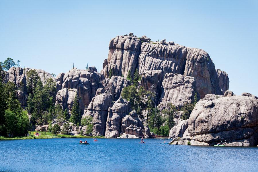 Sylvan Lake, South Dakota State Parks, National Parks, fall trips, travel