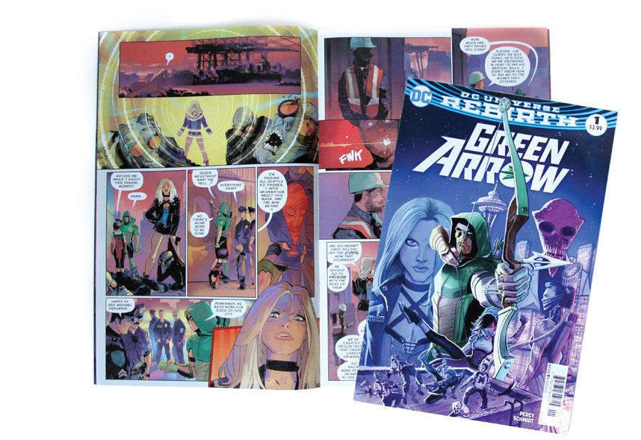 DC Comics, Green Arrow, Benjamin Percy