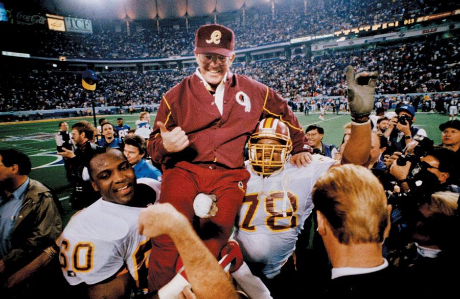 Washington Redskins,Joe Gibbs,1992 Super Bowl, football, nfl, minnesota sports
