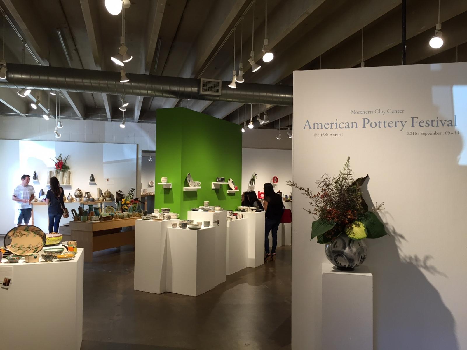 american pottery festival, northern clay center, fundraiser, event, art, local art, ceramics, minnesota journeys