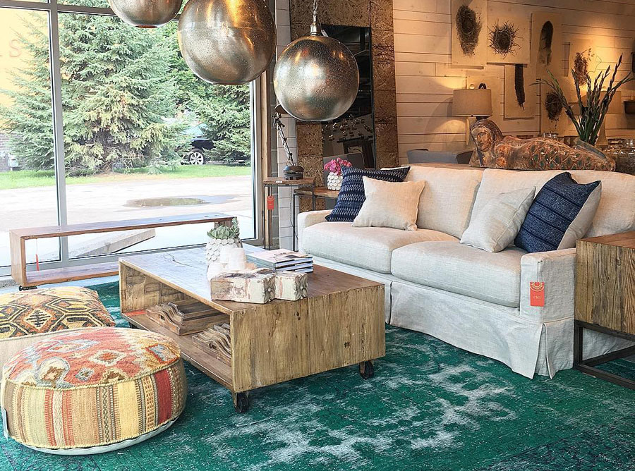 Ciel Loft and Home, home goods, home furnishings, st. louis park, shopping, bouritues, furniture