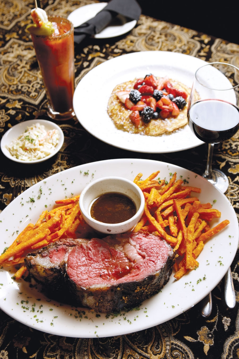 prime rib, bloody mary, pancakes, hell's kitchen, restaurant best bets, jason and joy, food