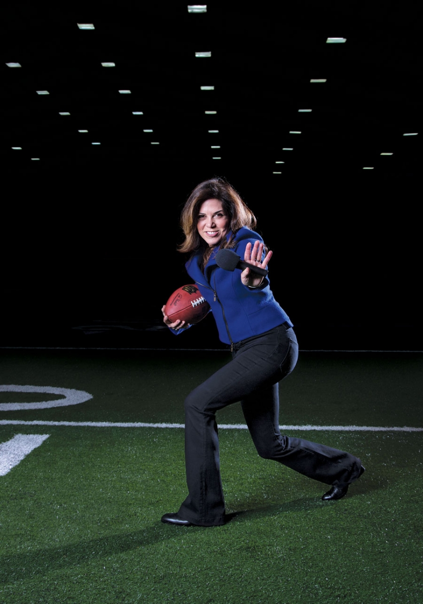 michele tafoya, first person, people and profiles, sports, football
