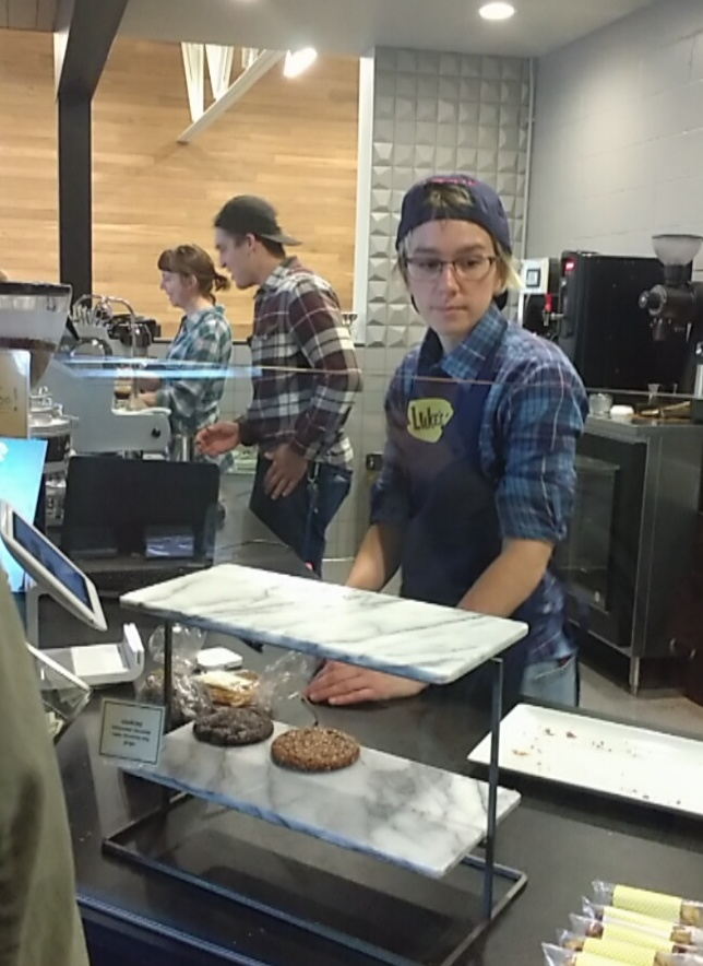 Dogwood Coffee, Luke's Diner, Gilmore Girls