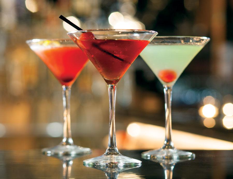 Dark Horse cocktails