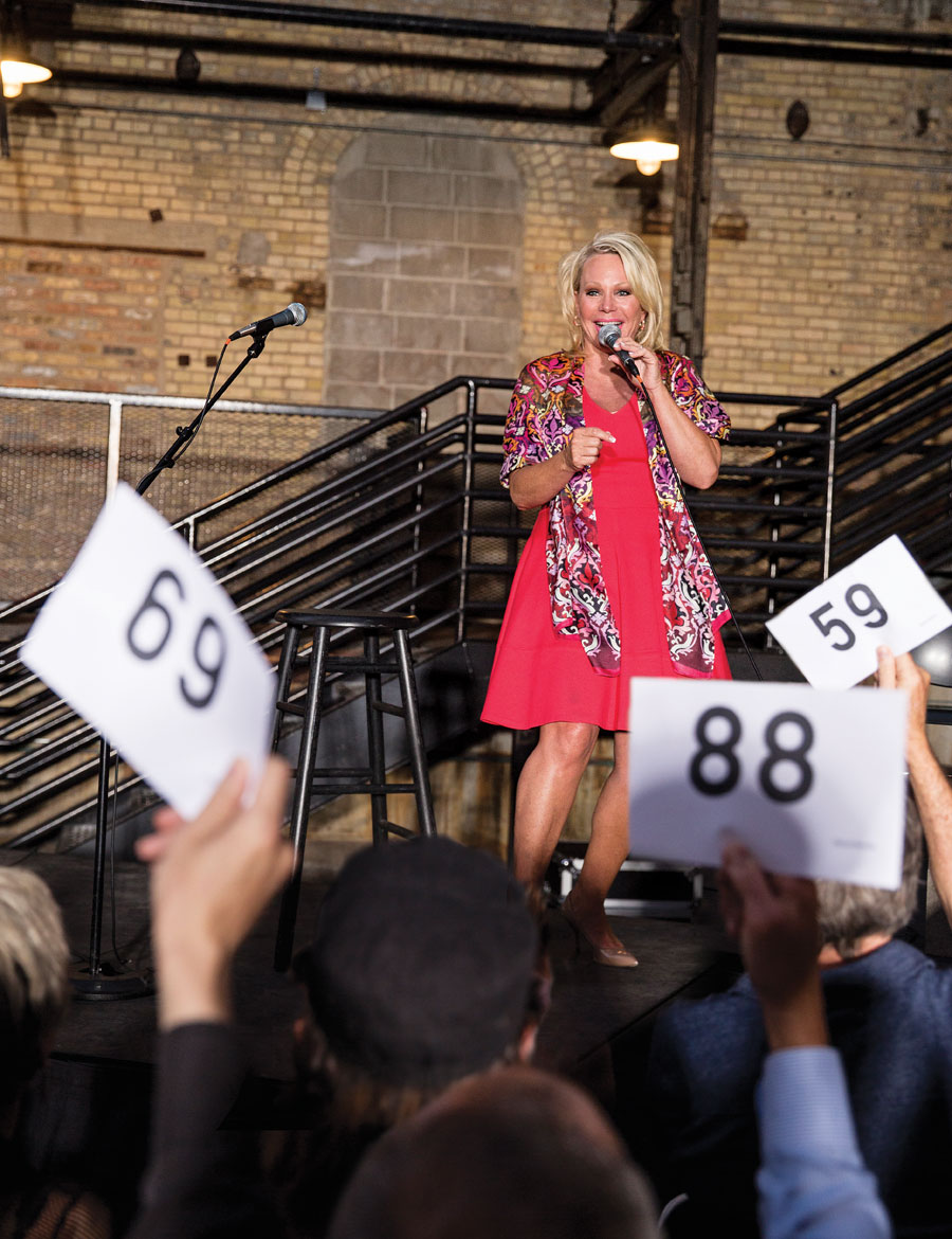 karen sorbo, auctioneer, auctions, people and profiles, minnesota