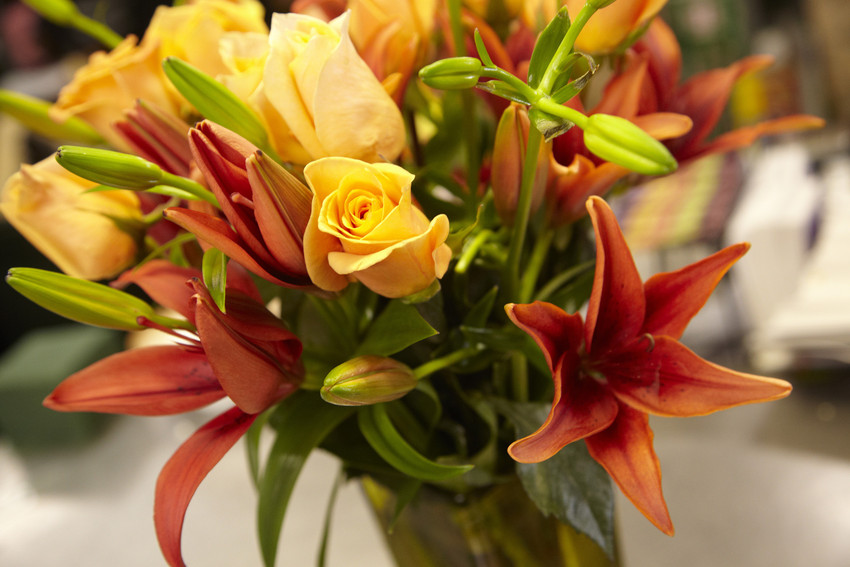 flower arrangements, thanksgiving, centerpieces, decor ideas