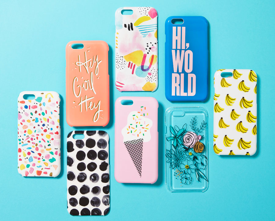 ashley mary, phone cases, target, target brand, shopping, local brands, local artist