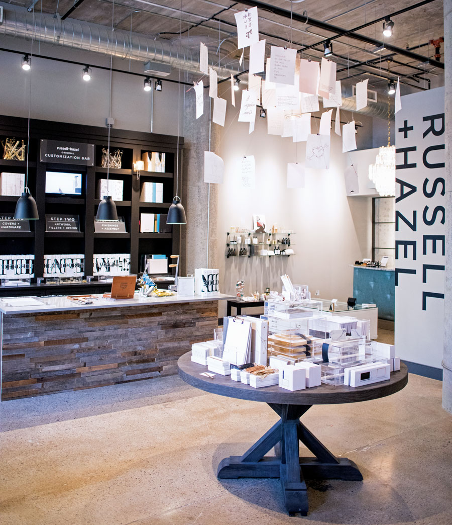 russell and hazel, shopping, local brands, north loop, minneapolis, office supplies