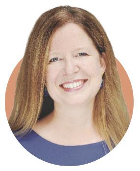 A portrait of Jennifer Bielstein, managing director of the Guthrie Theater