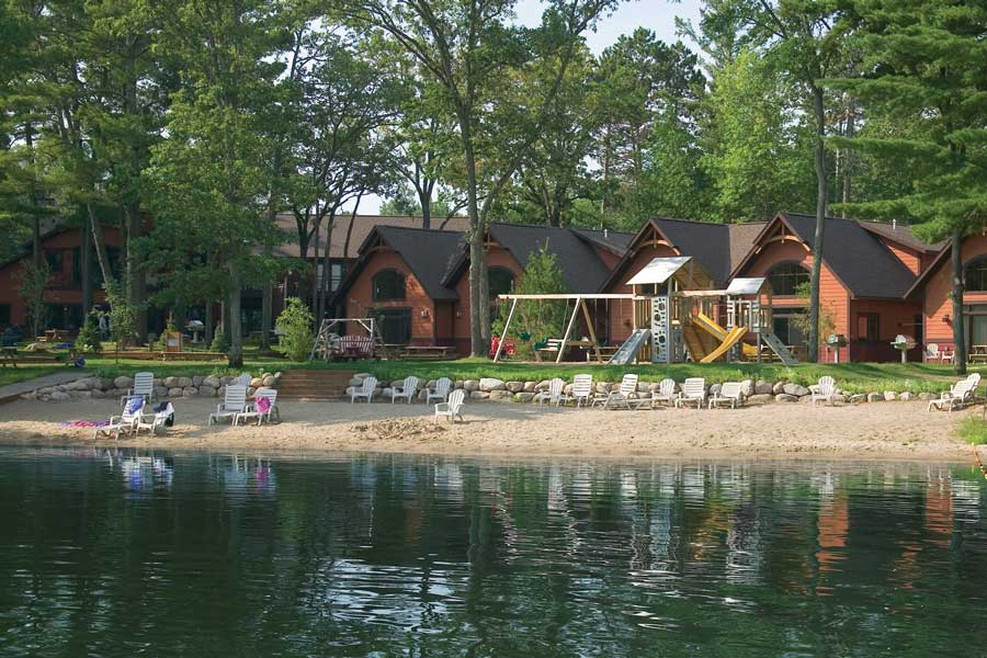Lake front at Good Ol' Days Resort