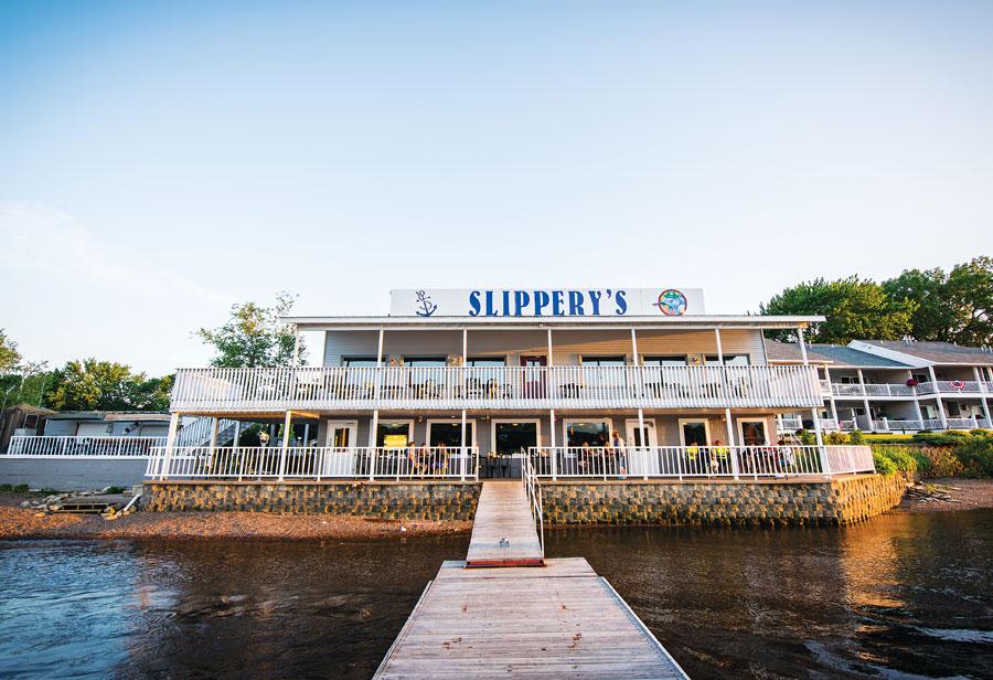 Slippery's Tavern and Restaurant.