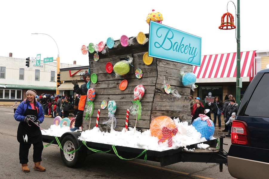 Aitkin's Fish House Parade.