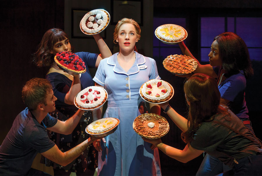 A production of Waitress.