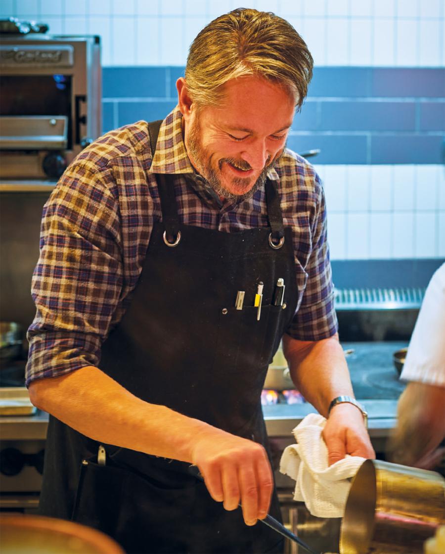 Chef Tim McKee