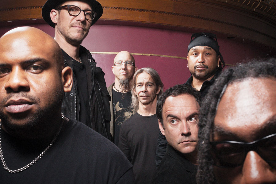 A portrait of the Dave Matthews Band.