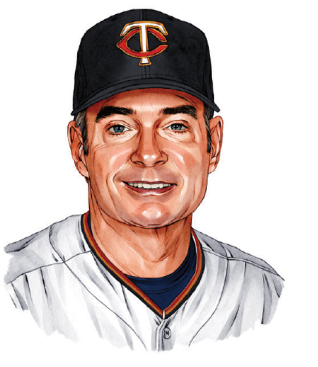 An illustration of Paul Molitor.