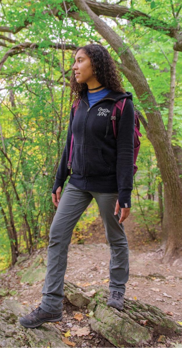 Outdoor Afro guide Alora Jones