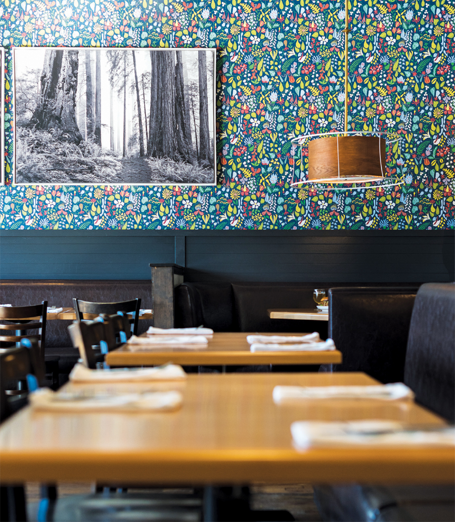 Food Club interior.