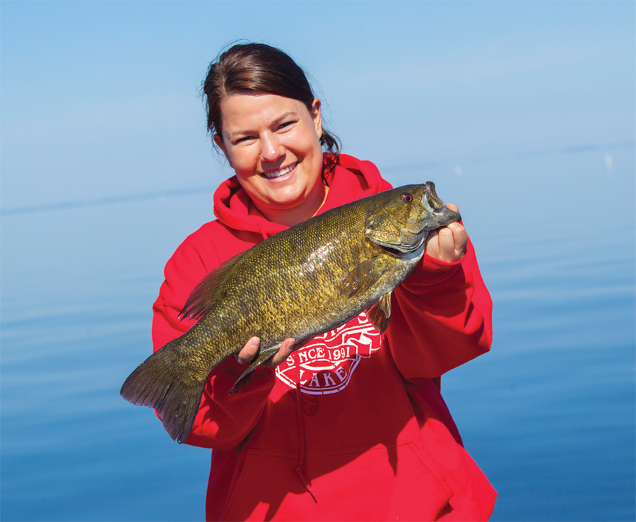 Throw some keepsakes in with that fresh bass catch from Mille Lacs.