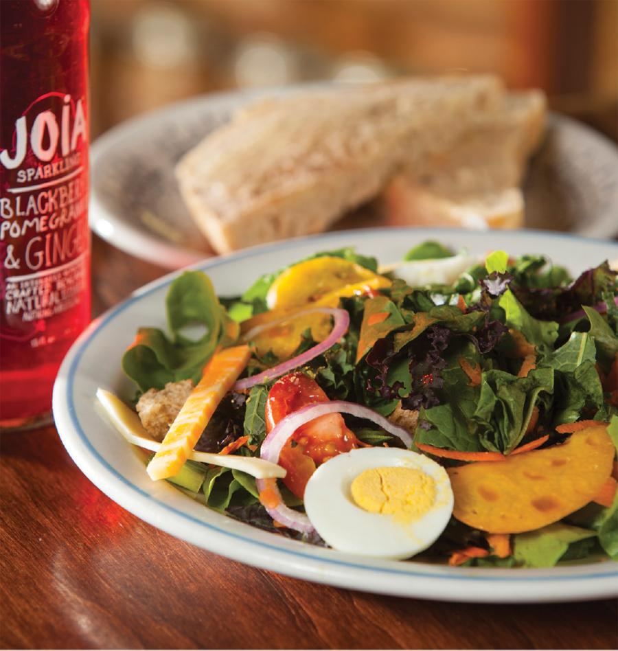 A salad at the Farm Market Cafe.