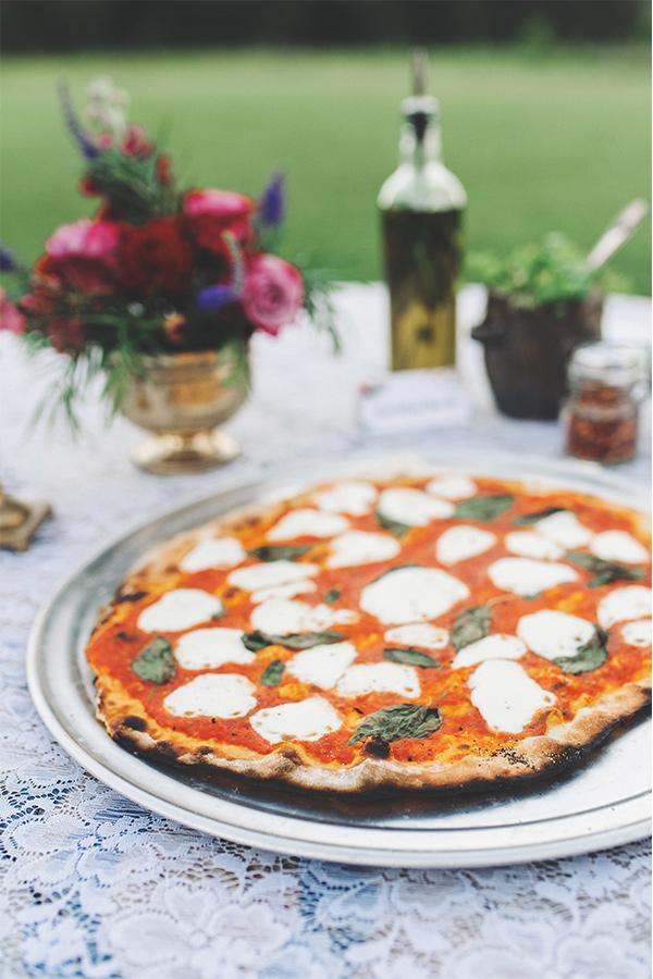 Neopolitan pizza at Pleasant Grove Pizza Farm.