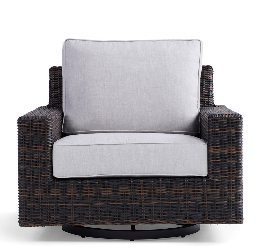 Yardbird's Langdon Swivel Chair.