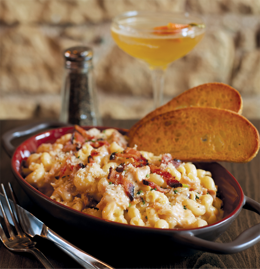 Mac-and-cheese from Brick & Bourbon in Stillwater, Minnesota.